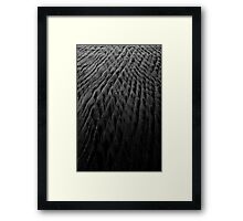 March Back To The Sea Framed Print