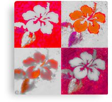 Pila Fashion Design - Hibiscus Series Canvas Print