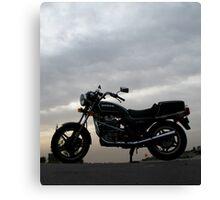 Cloudy Classic Honda Canvas Print