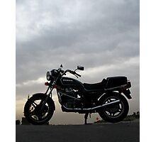Cloudy Classic Honda Photographic Print