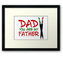 Fathers Day Framed Print