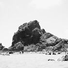 Piha, New Zealand with a 60's Look by Adam Jones