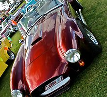 AC Cobra in Maroon by Ferenghi