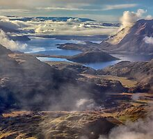 Lake Wanaka from Treble Cone by Charles Kosina
