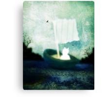 Max Sails Away Canvas Print
