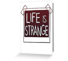 life is strange Greeting Card