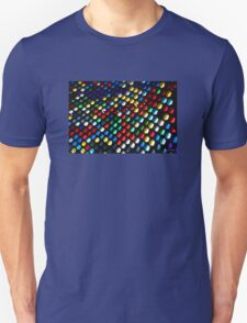 Stained Glass Rainbow Unisex T-Shirt