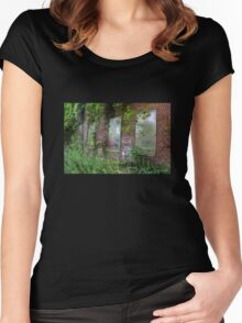 Man vs Nature Women's Fitted Scoop T-Shirt