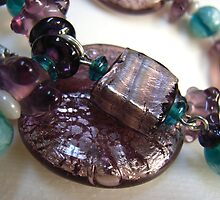 glass foil beads by betty porteus