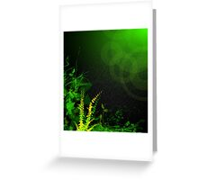 Abstract Digital Background Greeting Card