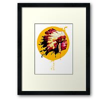 Chief! Framed Print