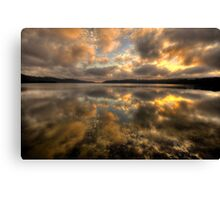 Genuflection - Narrabeen Lakes, Sydney - The HDR Experience Canvas Print