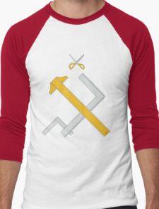 Girls und Panzer - Pravda Men's Baseball ¾ T-Shirt