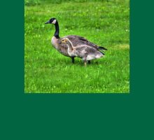 Canada Goose and Gosling in the Rain Unisex T-Shirt