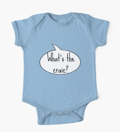What's the Craic?  One Piece - Short Sleeve