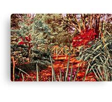 Dandenong Mountain Observation Garden Canvas Print