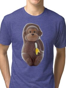 Chocolate Monkey Tri-blend T-Shirt