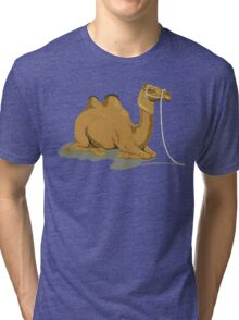 Camel Illustration Tri-blend T-Shirt
