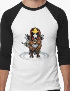 Tribal Entei Men's Baseball ¾ T-Shirt