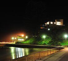 Dee Why Beachfront at night by zhivan