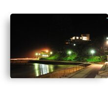 Dee Why Beachfront at night Canvas Print