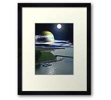 Harbourtown Framed Print