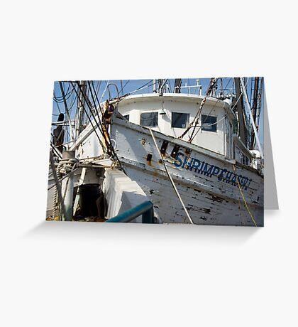 Shrimp Chaser Greeting Card