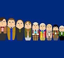 Doctor Who Babushka Dolls by beerman70