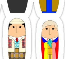 Doctor Who Babushka Dolls Sticker