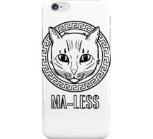 Ma-less Versace Logo  iPhone Case/Skin