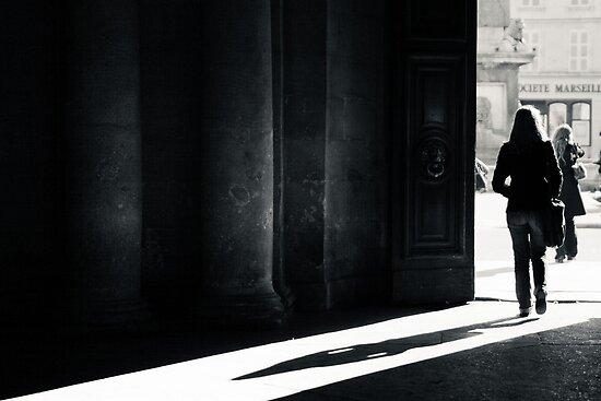 The Shadow - Arles, France - 2010 by Nicolas Perriault