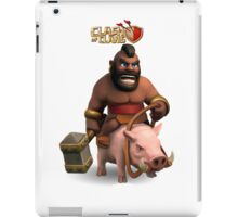 clash of clans soldier iPad Case/Skin