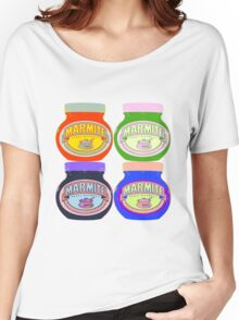 Marmite pop art Women's Relaxed Fit T-Shirt