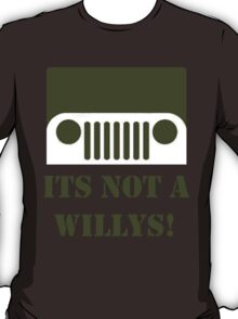 WW2 Ford GPW Jeep  T-Shirt