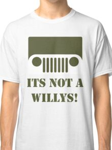 WW2 Ford GPW Jeep  Classic T-Shirt