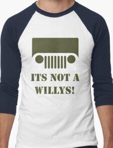 WW2 Ford GPW Jeep  Men's Baseball ¾ T-Shirt