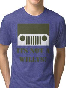 WW2 Ford GPW Jeep  Tri-blend T-Shirt
