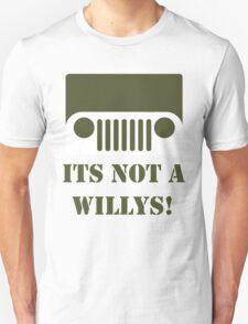 WW2 Ford GPW Jeep  Unisex T-Shirt