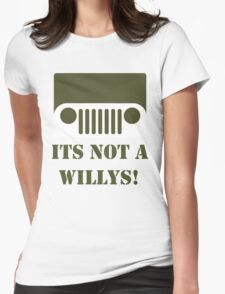 WW2 Ford GPW Jeep  Womens Fitted T-Shirt