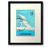 Singapore Summer of Love 1969 Print Framed Print