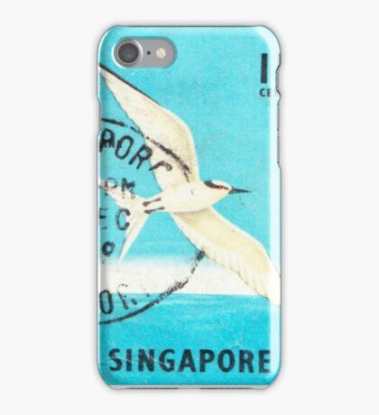 Singapore Summer of Love 1969 Print iPhone Case/Skin