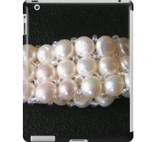 Genuine pearls for girls iPad Case/Skin