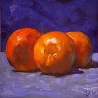 Oranges 1 by Les Castellanos