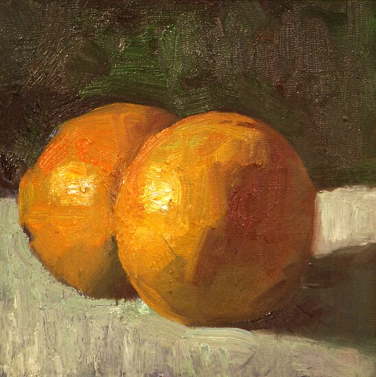 Orange Citrus  by Les Castellanos
