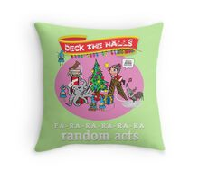 Christmas at Headquarters Throw Pillow