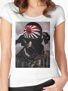 Kamikaze Women's Fitted Scoop T-Shirt