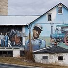 Lancaster County Barn Mural by Mark Van Scyoc