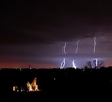 First Lightning Capture of 2010 by Dennis Jones - CameraView