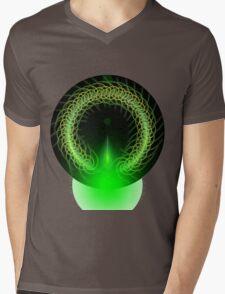 Abstract Digital Background Mens V-Neck T-Shirt