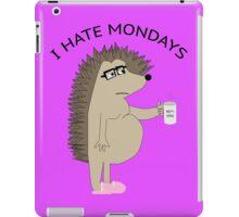 I Hate Mondays Hog iPad Case/Skin